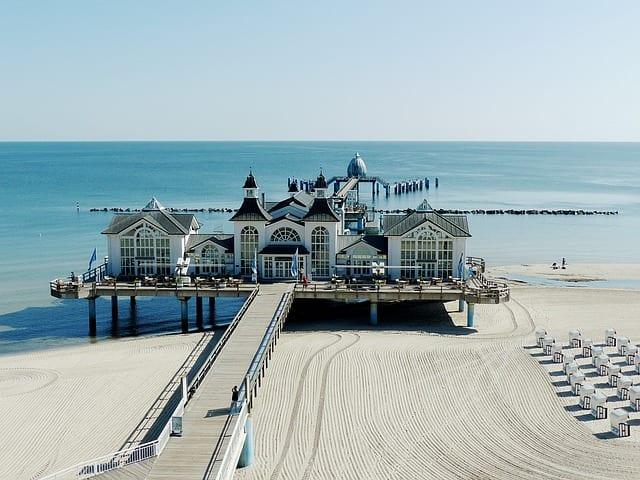 Sea Bridge Germany Baltic Sea | Study Germany